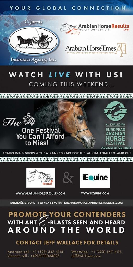 Watch This Weekend -- Al Khalediah European Arabian Horse Festival