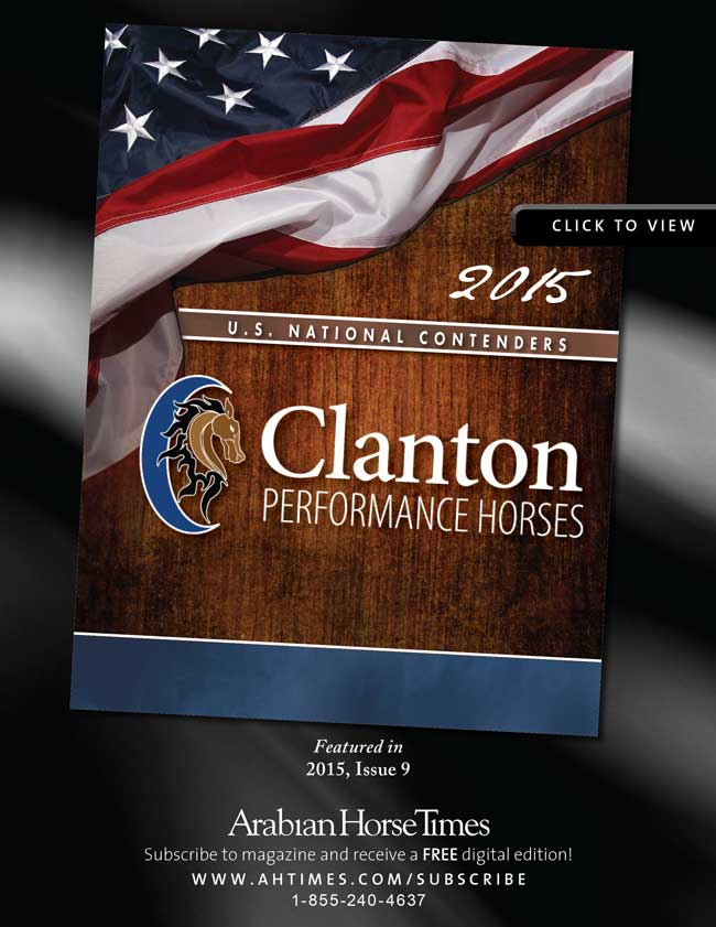 Clanton Performance Horses' 2015 U.S. National Contenders