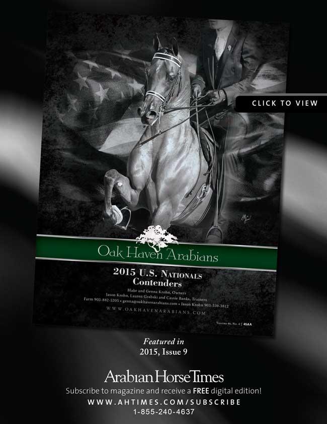 Oak Haven Arabians 2015 U.S. National Contenders