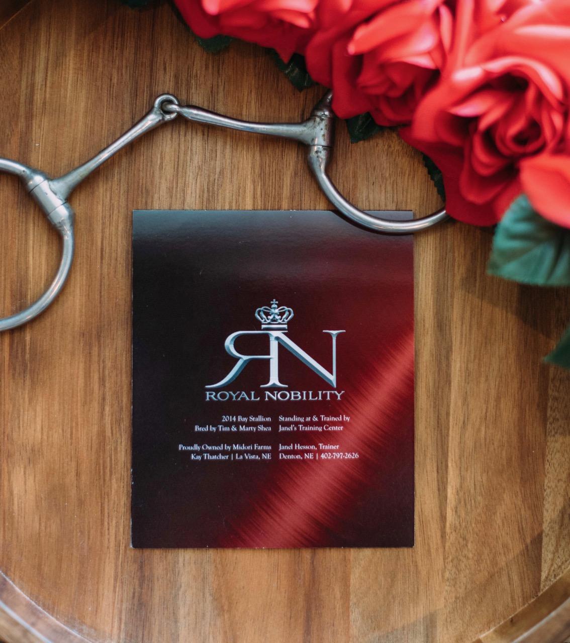 Stallion Card | Royal Nobility